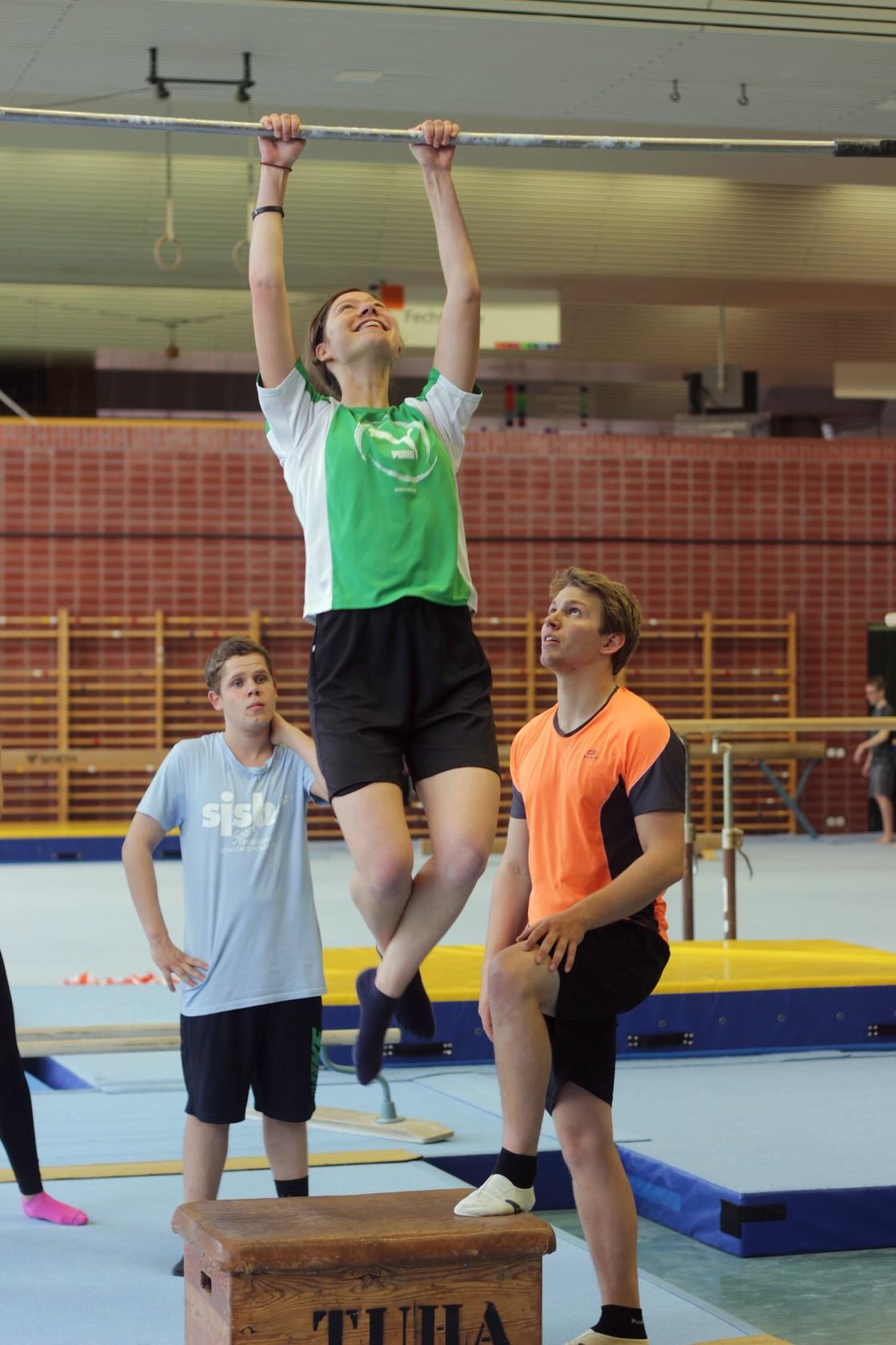 Ask a student - Sportwissenschaft 1/1 (Foto: Ramona Dabringer)