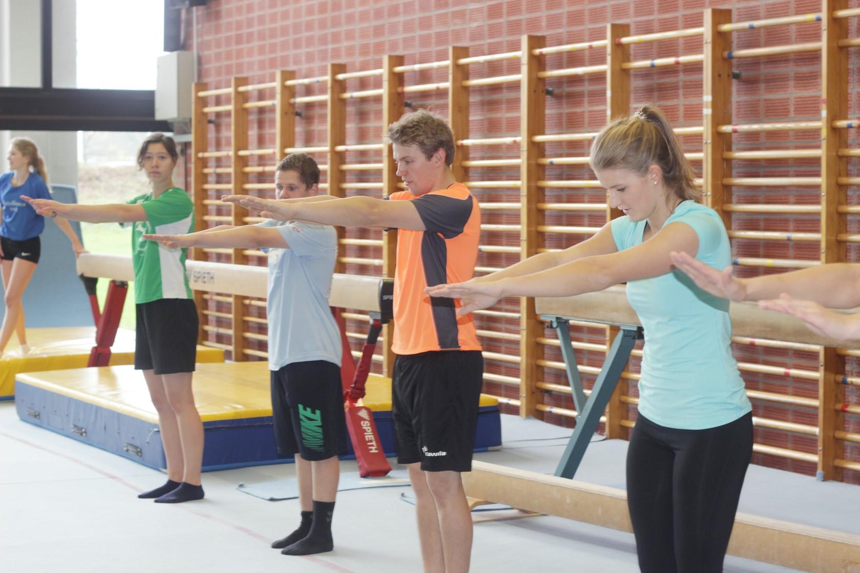 Ask a student - Sportwissenschaft Turnen 1/1 (Foto: Ramona Dabringer)