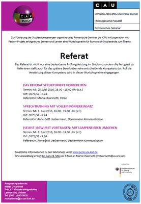 Workshops Referat
