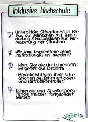 Inklusive Hochschule und Barrierefreie Didaktik